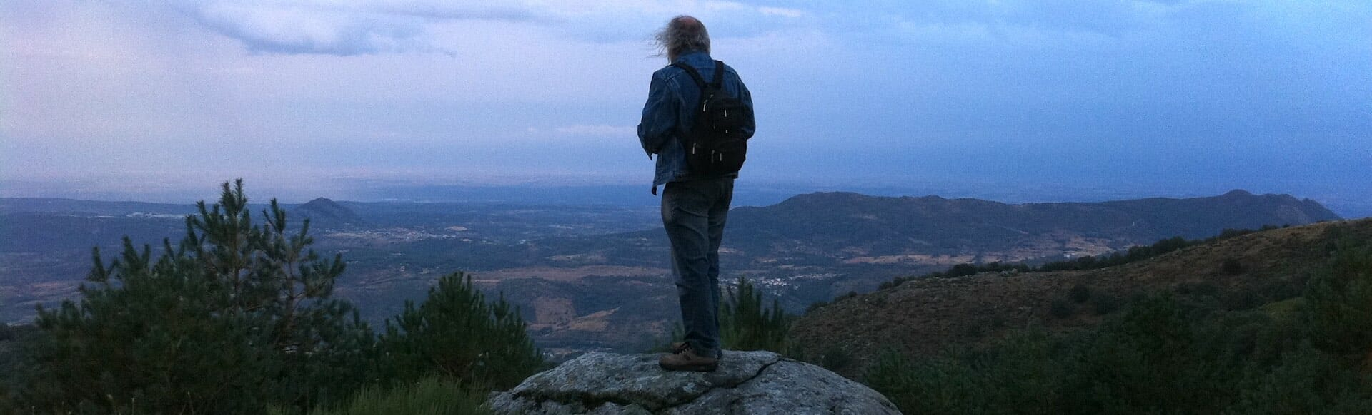 Un día en lo alto de la sierra