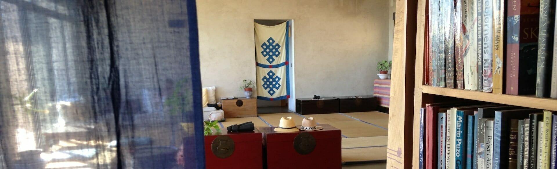 Meditación en Hotel La Canela
